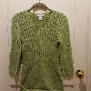 ❤4 for 20 ❤ Lucy and Laurel v-neck cable sweater